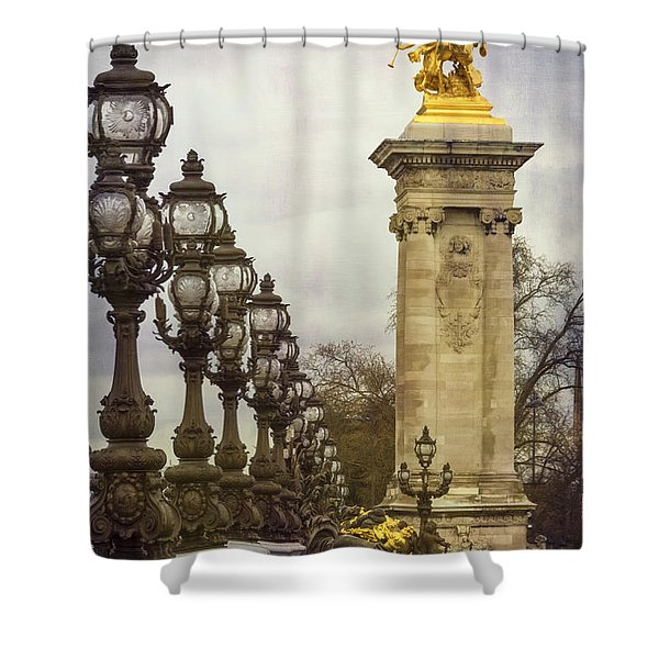 Pont Alexandre IIi Paris Shower Curtain