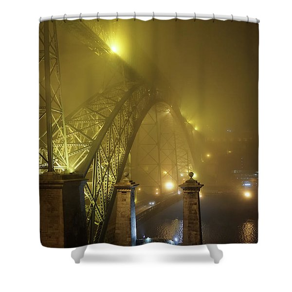 Ponte D Luis I Shower Curtain