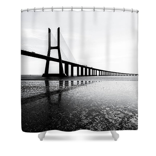 Ponte Vasco Da Gama Shower Curtain