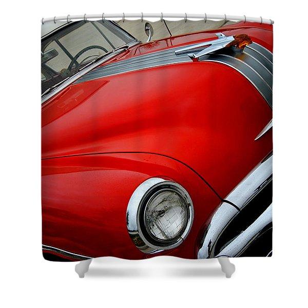 Pontiac Chieftain 1954 Front Shower Curtain