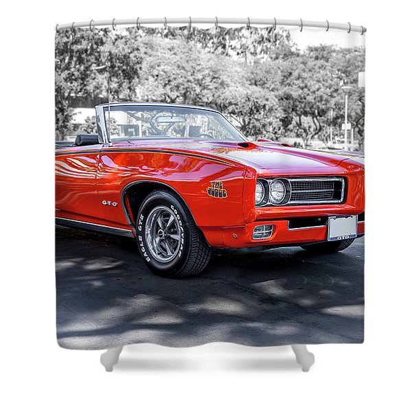 Pontiac G T O Judge Convertible Shower Curtain