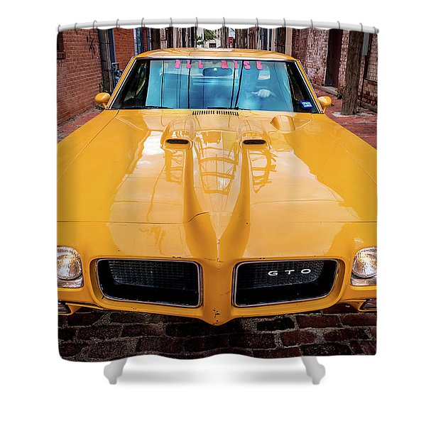 Pontiac Muscle Shower Curtain