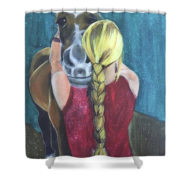 Pony Love Shower Curtain