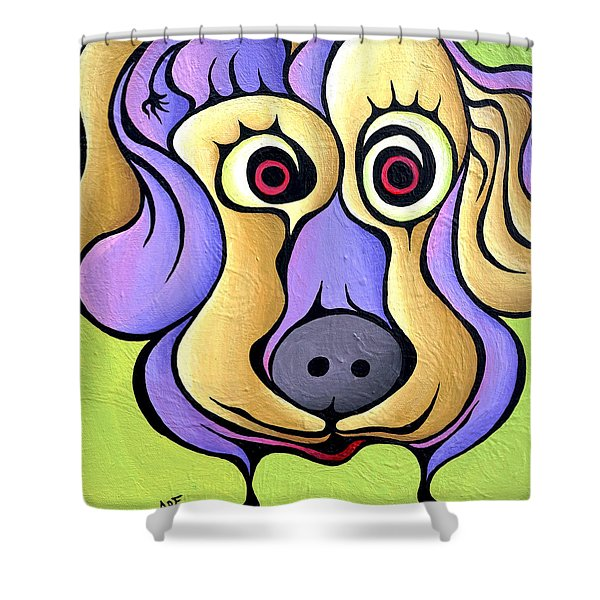 Poohnelope Shower Curtain