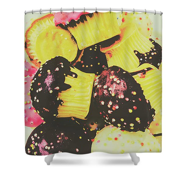 Pop Art Bake Shower Curtain