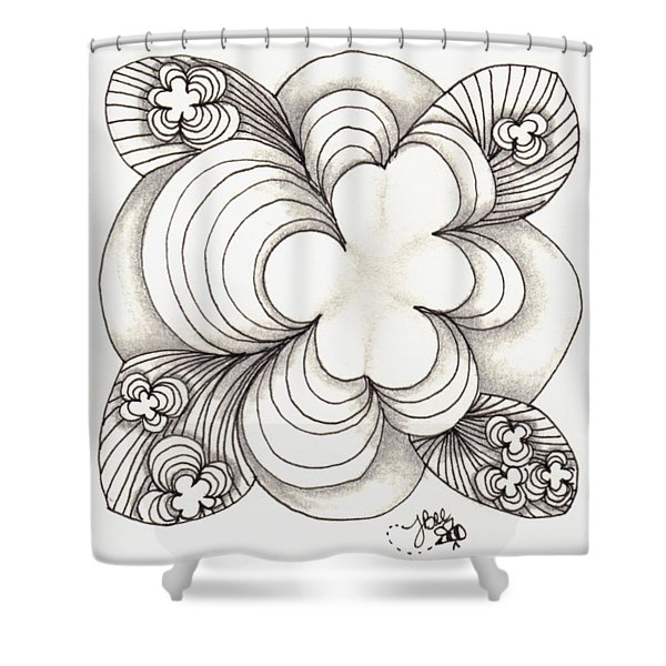 Popcloud Blossom Shower Curtain