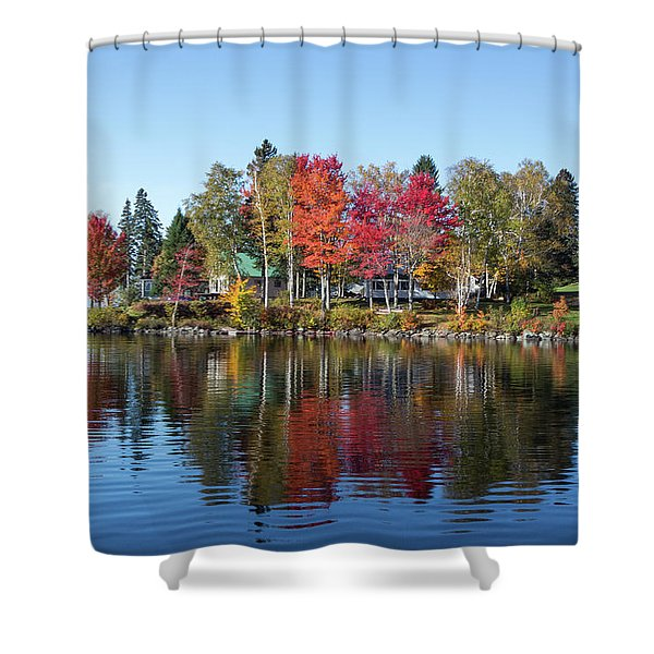 Popping Colors Shower Curtain