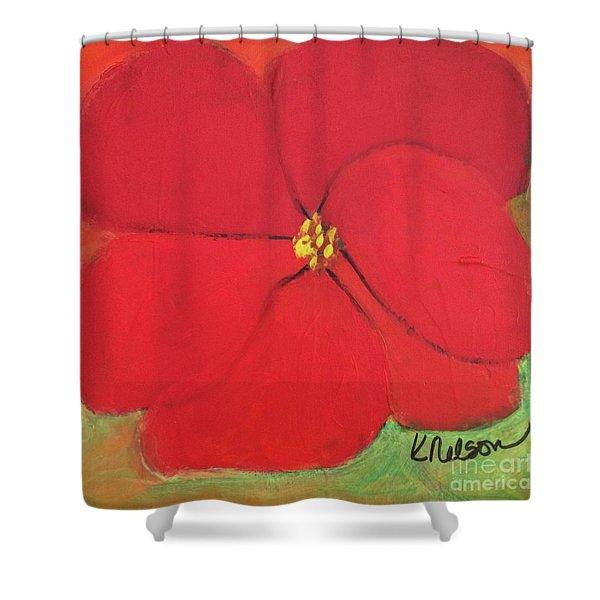 Poppy 2 Shower Curtain