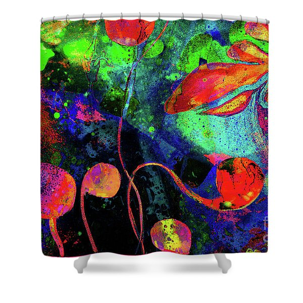 Poppy Enchantment Shower Curtain
