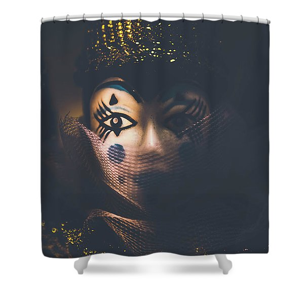 Porcelain Doll. Performing Arts Event Shower Curtain