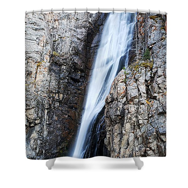 Porcupine Falls Shower Curtain