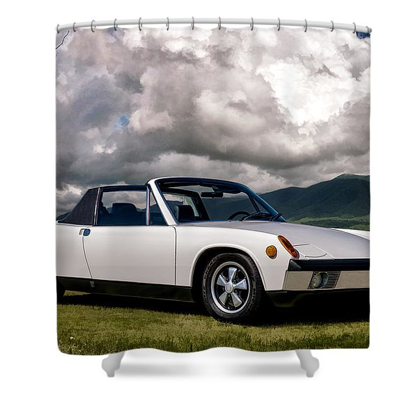 Porsche 914 Shower Curtain
