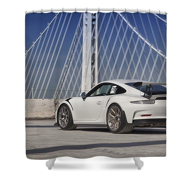 Porsche Gt3rs Shower Curtain