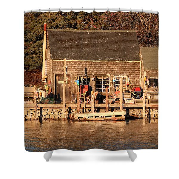 Port Clyde Life 2 Shower Curtain