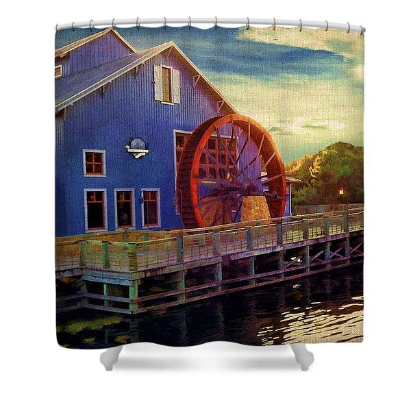 Port Orleans Riverside Shower Curtain