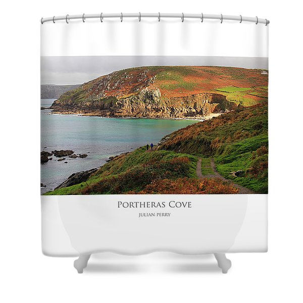Portheras Cove Shower Curtain