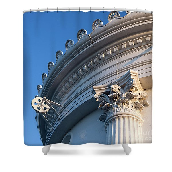 Portland Breakwater Light  -58750 Shower Curtain
