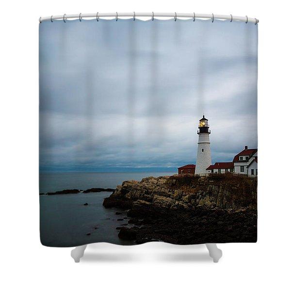 Portland Head Light 2 Shower Curtain