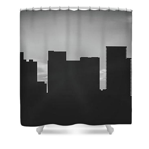 Portland Sunset Usorpo-pa02 Shower Curtain