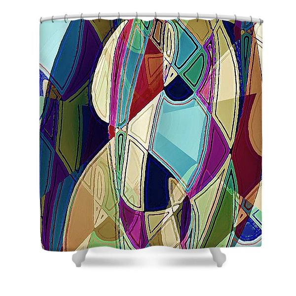 Portrait Of A Friend Shower Curtain