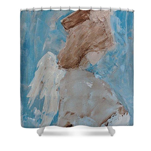 Portrait Of An Angel Shower Curtain