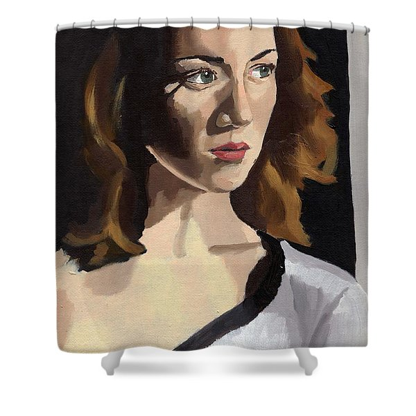 Portrait Of Becca Shower Curtain