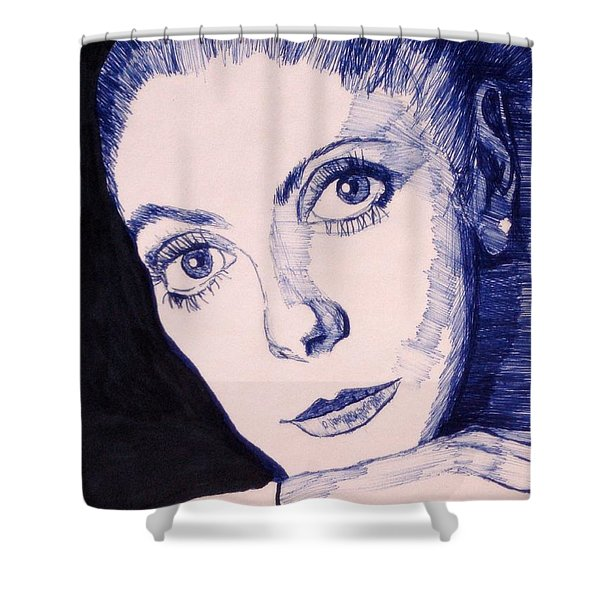 Portrait Of Catherine Shower Curtain