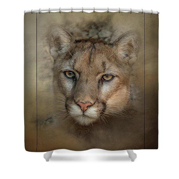 Portrait Of Cruz Shower Curtain
