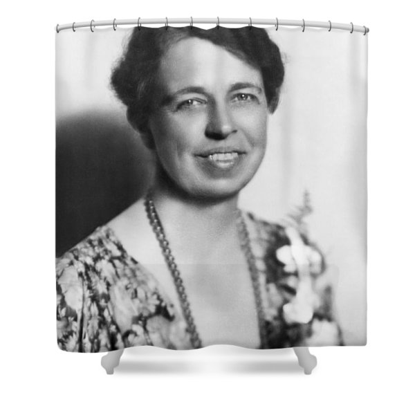 Portrait Of Eleanor Roosevelt Shower Curtain