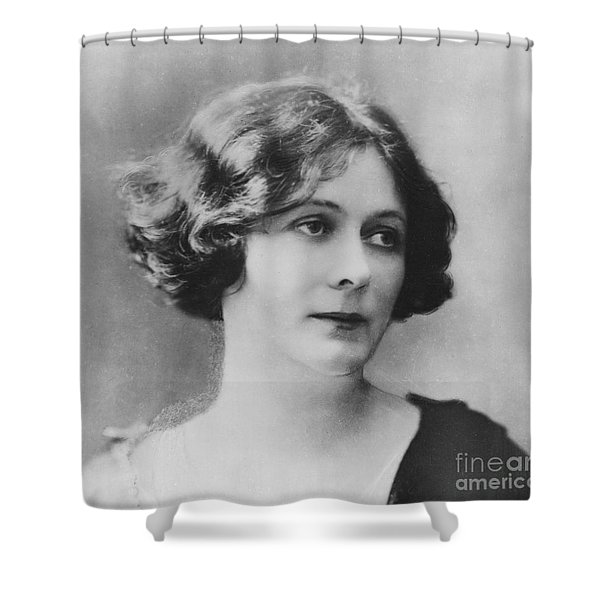 Portrait Of Isadora Duncan Shower Curtain