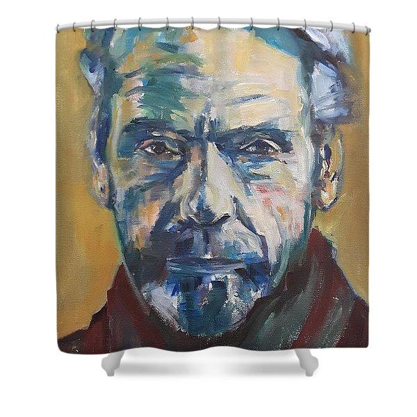 Portrait Of Jeremy Shower Curtain