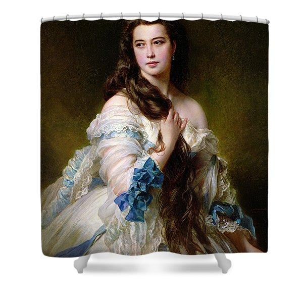 Portrait Of Madame Rimsky Korsakov Shower Curtain
