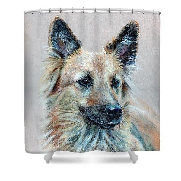 Portrait Of Sasha Shower Curtain