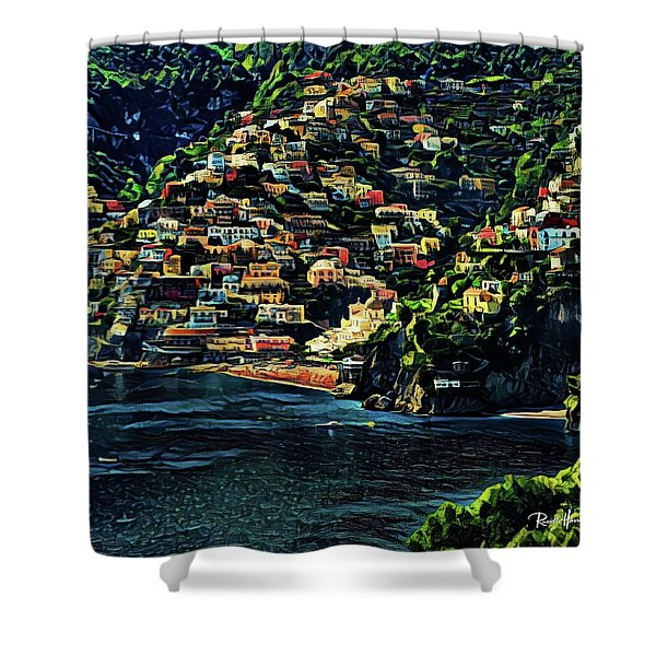 Positano Italy Shower Curtain