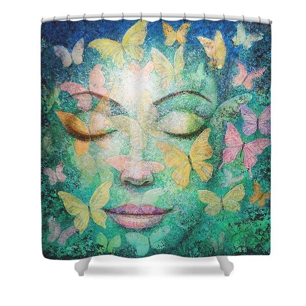 Possibilities Meditation Shower Curtain