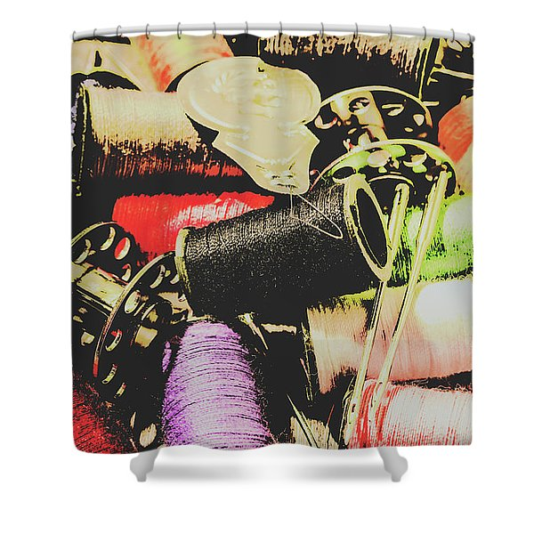 Posterized Dressmaking Shower Curtain
