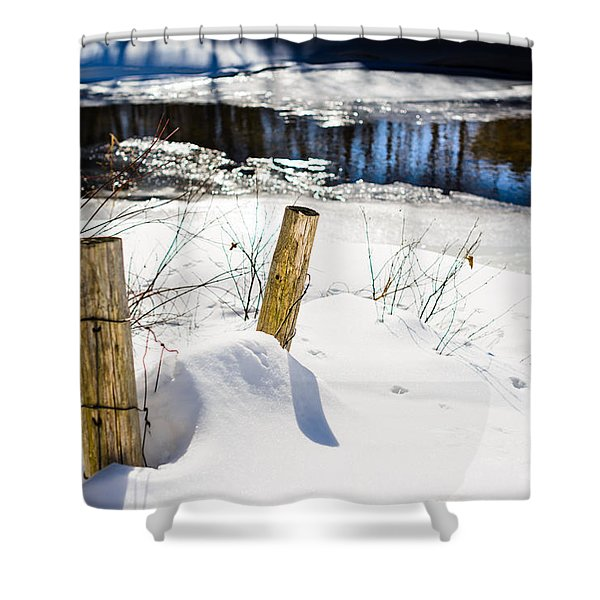 Posts In Winter Shower Curtain