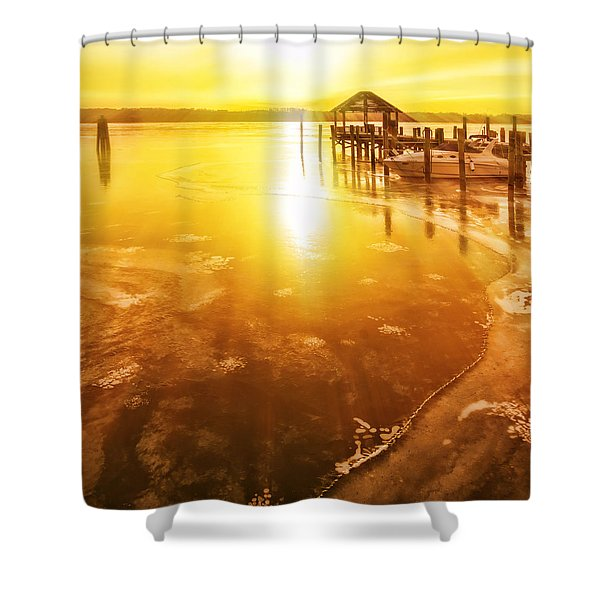 Potomac In Old Town Alexandria Shower Curtain