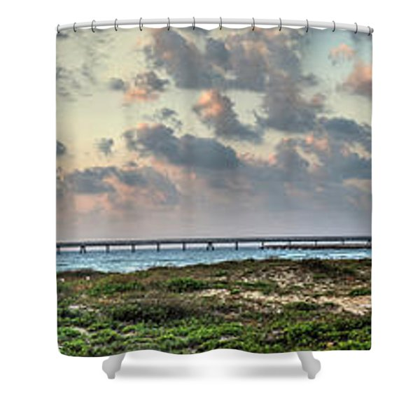 Power 1 Shower Curtain