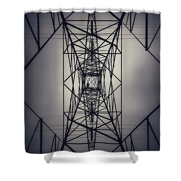 Power Above Shower Curtain