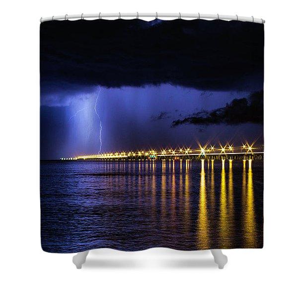 Power Of God Shower Curtain