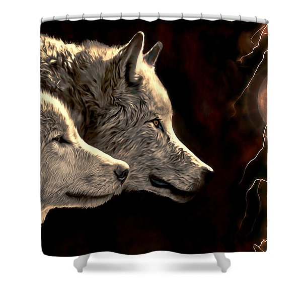 Power Of The Moon Shower Curtain