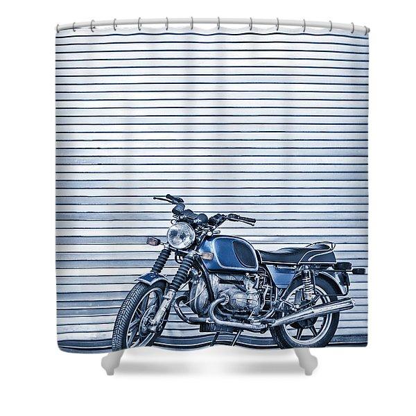 Power Ride Shower Curtain
