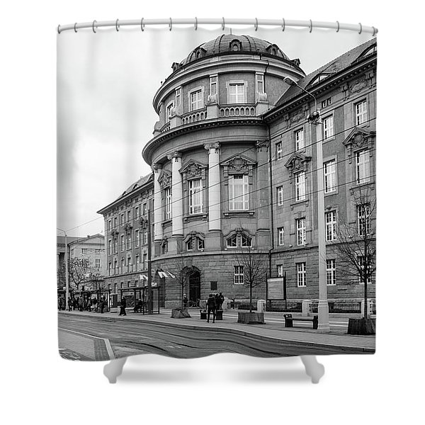 Poznan University Of Medical Sciences Shower Curtain