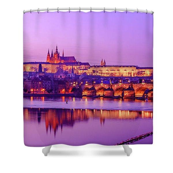Prague Fairytale Shower Curtain
