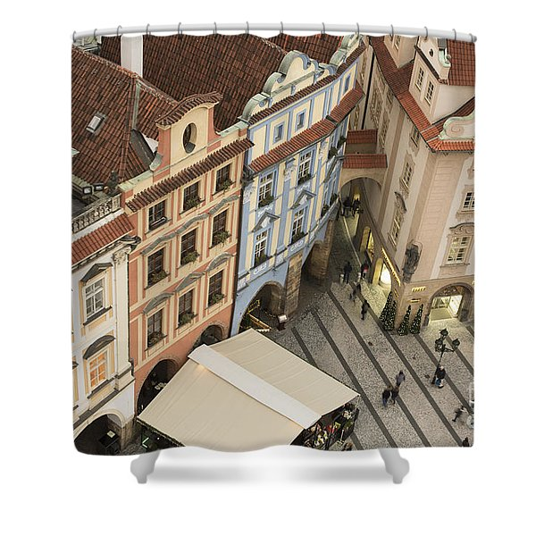 Prague. Old Town Square Shower Curtain