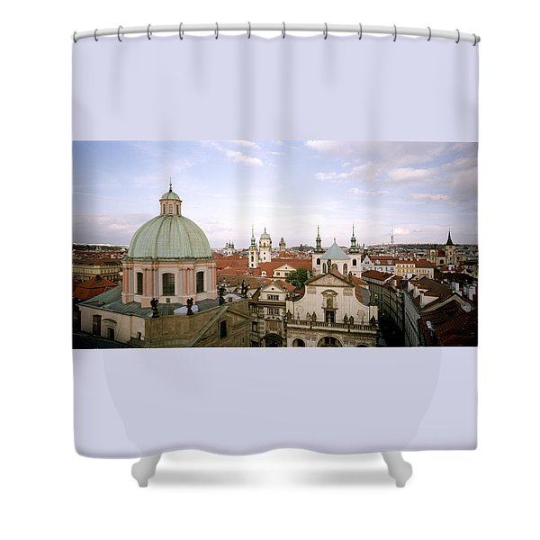 Prague Twilight Shower Curtain