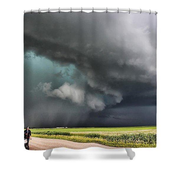 Prairie Beast Shower Curtain