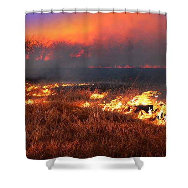 Prairie Burn Shower Curtain