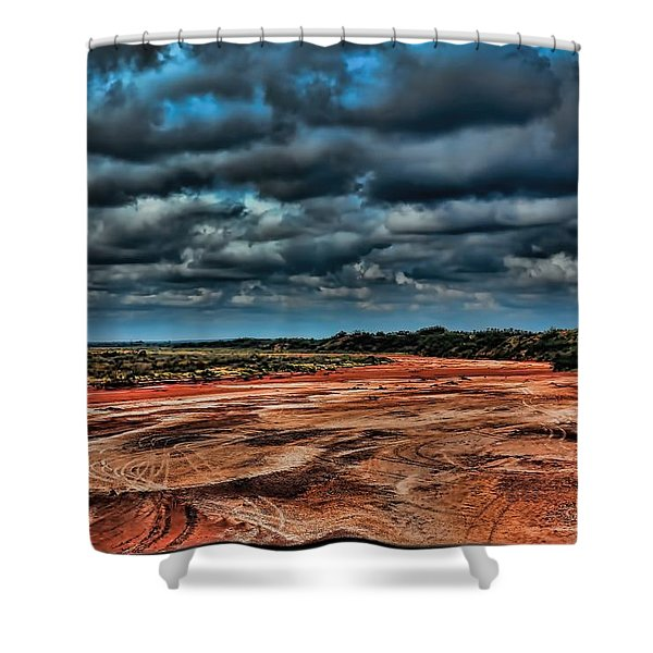 Prairie Dog Town Fork Red River Shower Curtain